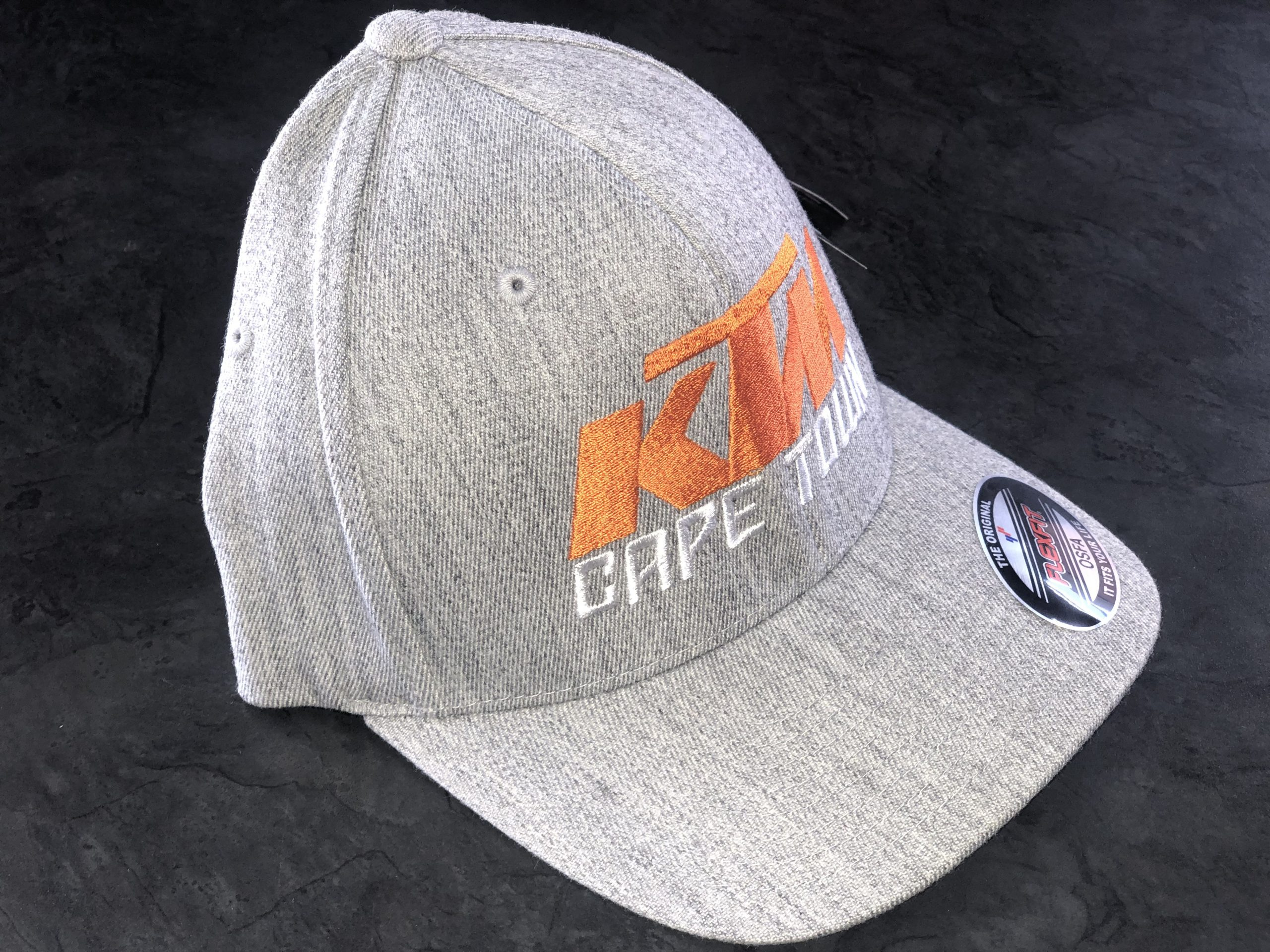 KTM Cape Town Cap - Grey-0