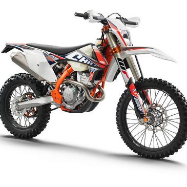 2018 KTM 250 EXC-F Six Days Promotion